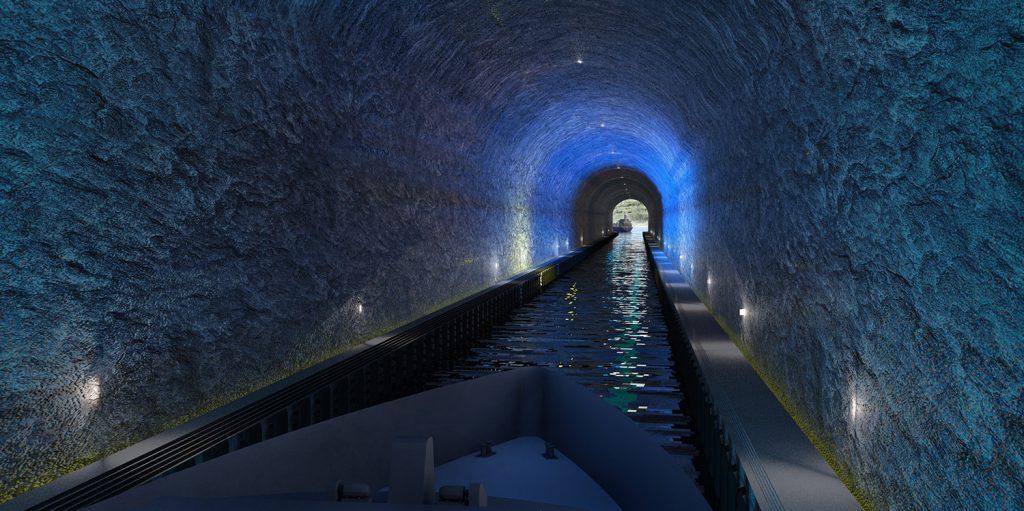 Stad-skipstunnel-Innvendig-tunnel ingen midler