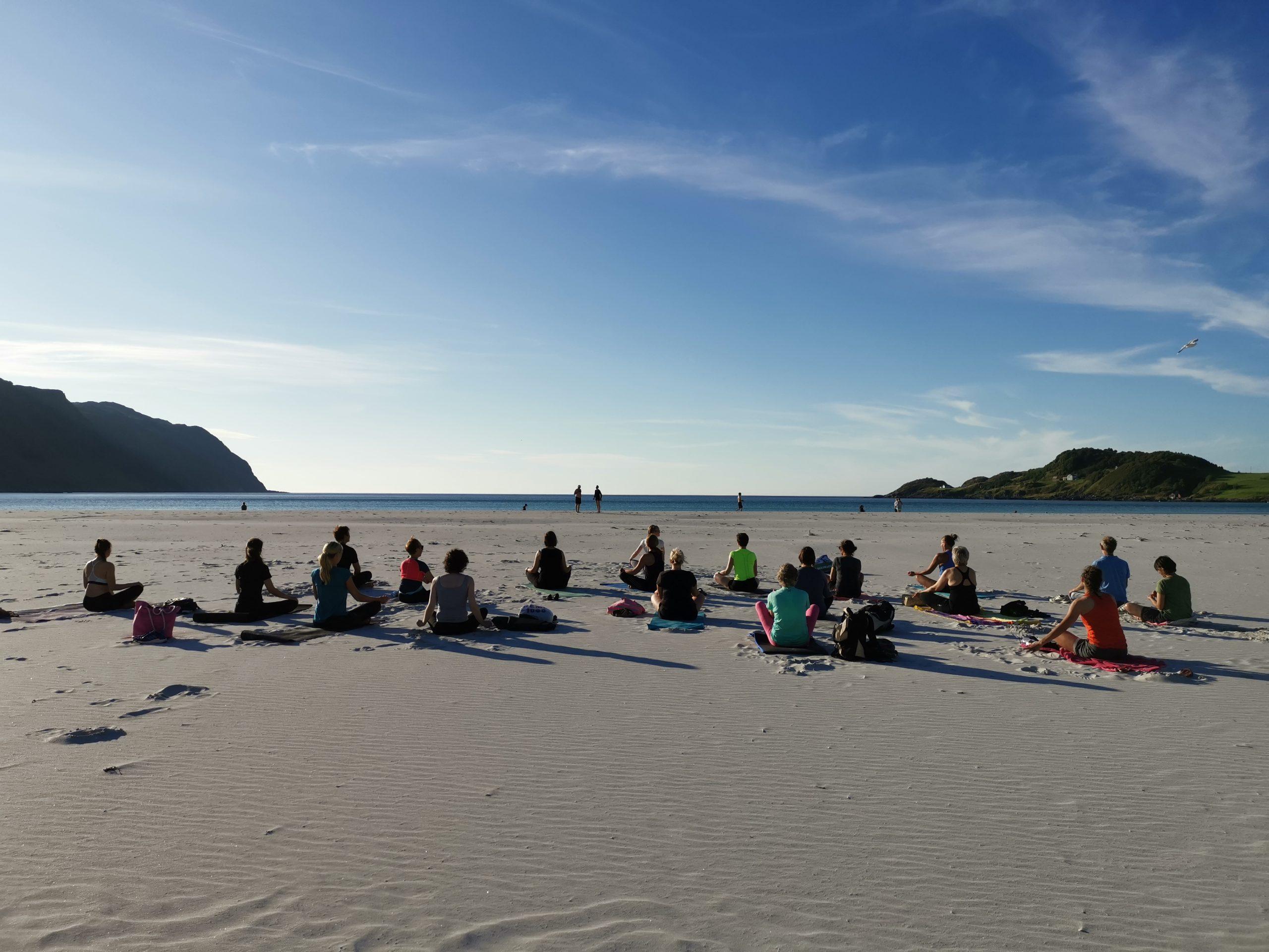 yoga til reiselivskurs